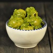 Olijven KwaQmole Pesto pasta